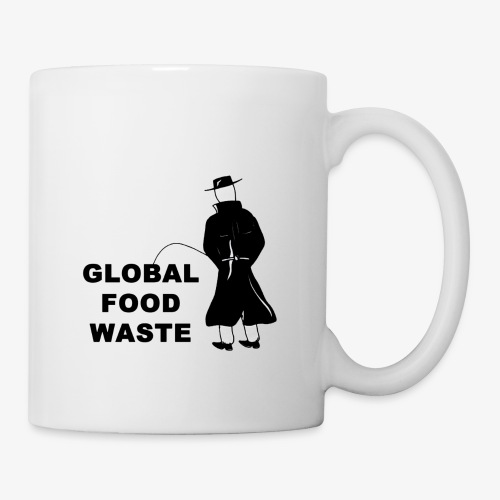 Pissing Man against Global Food Waste - Tasse