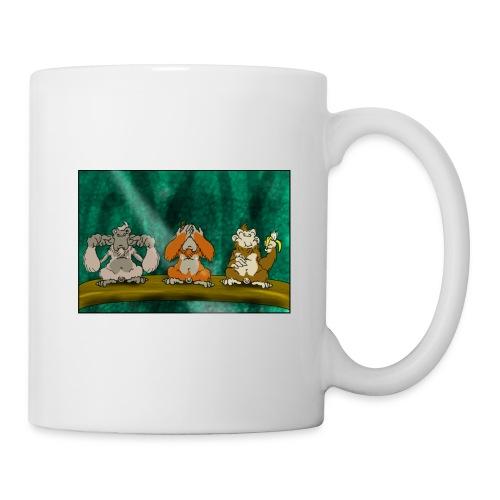 Drei Affen - Tasse