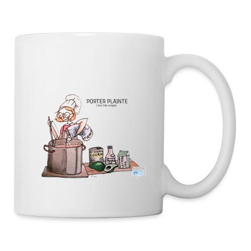 Comment porter plainte - Mug blanc