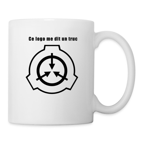 Mug SCP Ce Logo me dit un truc - Mug blanc