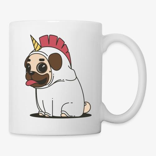 unicorn pug - Mug