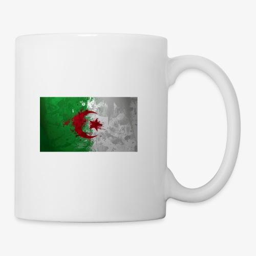 Drapeau Algérienne - Mug blanc