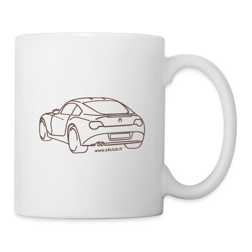 Z4 coupe 3 4 arrière - Mug blanc