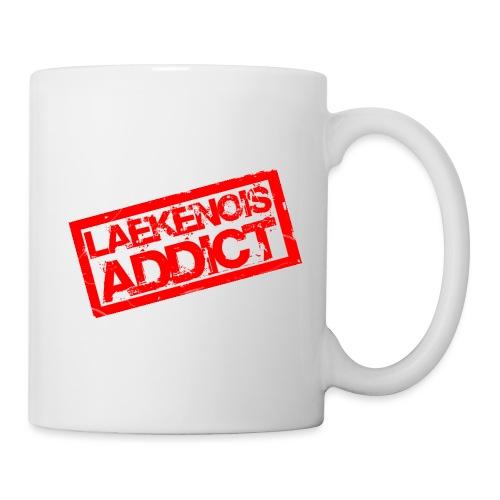 addict laek - Mug blanc