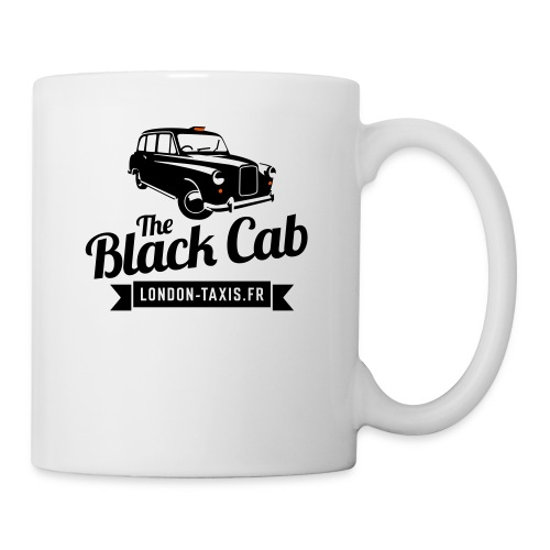 The Black Cab - Mug blanc