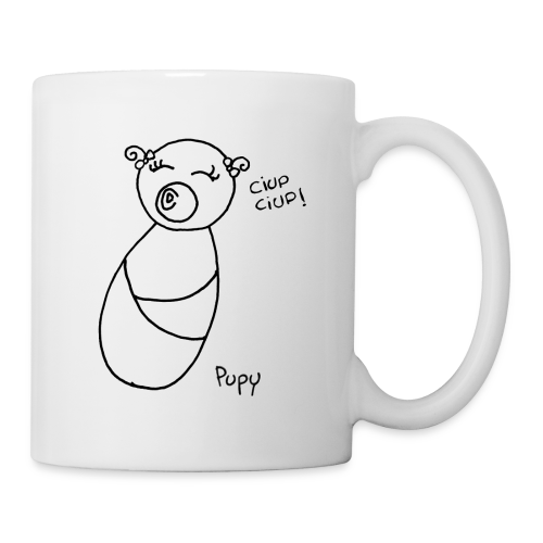 Pupy: ciup ciup! - girl - Tazza