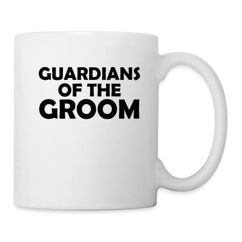Wächter des Bräutigam JGA Junggesellenabschied - Tasse
