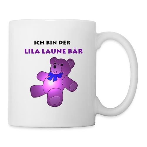 Ich bin der Lila Laune Bär - Tasse