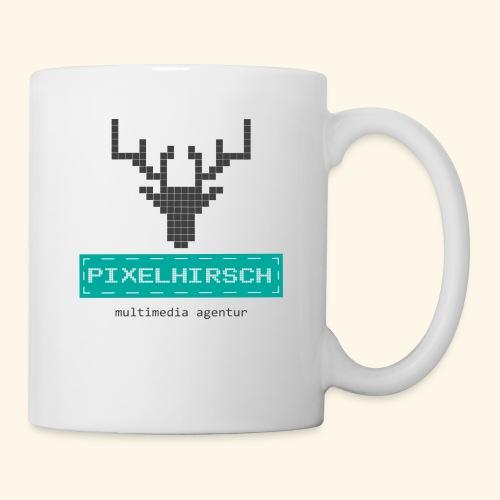 PIXELHIRSCH - Logo - Tasse