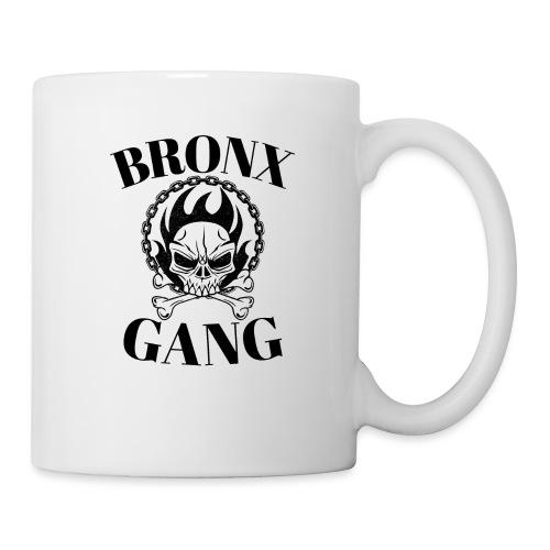 bronx gang skull flamme - Mug blanc