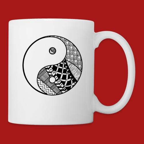 Decorative-Yin-Yang - Kop/krus