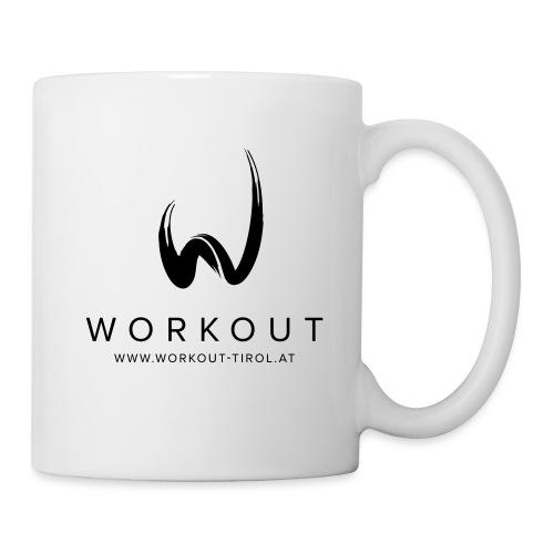 Workout mit Url - Tasse