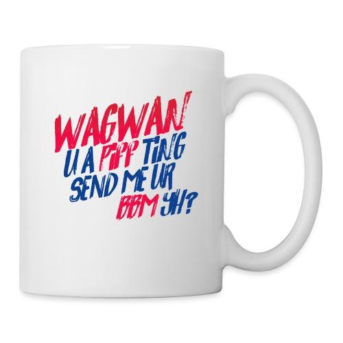 Wagwan PiffTing Send BBM Yh? - Mug