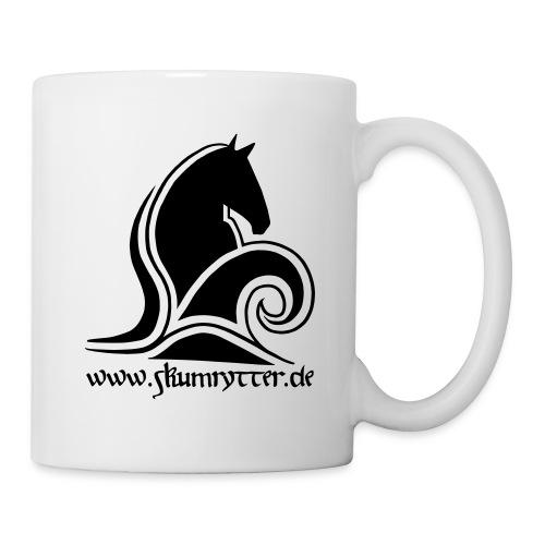 Skumrytter Logo mit Text - Tasse
