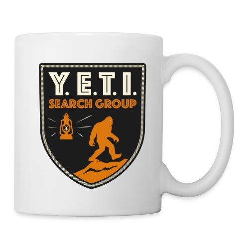 Blason Yeti Search Group - Mug blanc