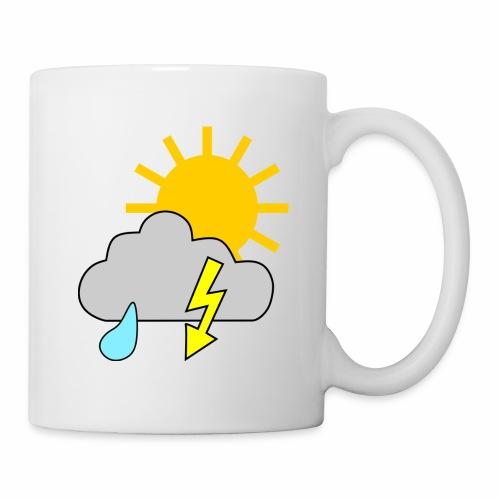 Sun - rain - thunderstorm - Mug