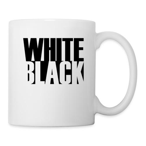 White, Black T-shirt - Mok