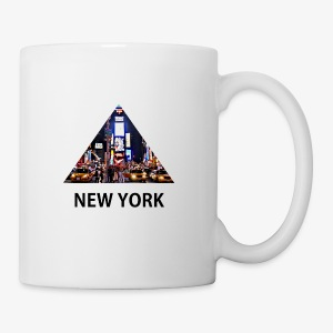 Triangle sur New York - Tasse