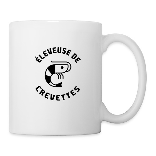 ÉLEVEUSE DE CREVETTES CBS - Mug blanc