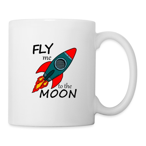 Fly me to the moon - Taza