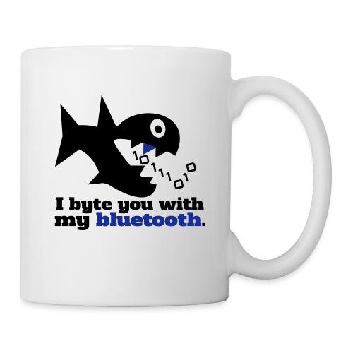 Byte you Nerd Fisch Blueooth - Tasse