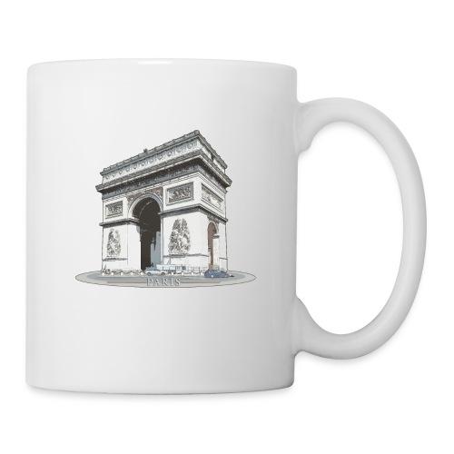 Arc triomphe - Mug blanc
