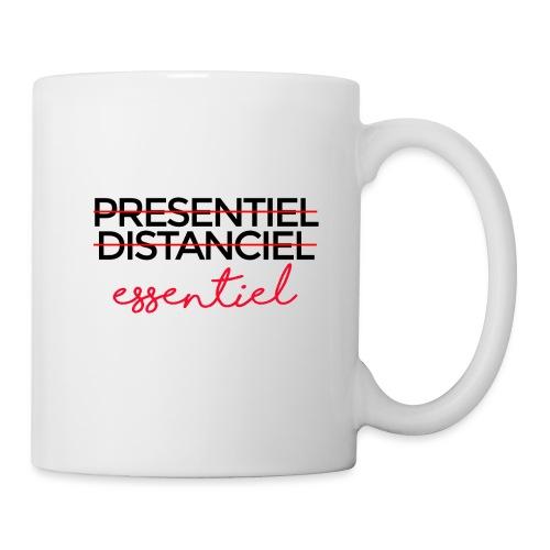 Présentiel Distanciel Essentiel - Mug blanc