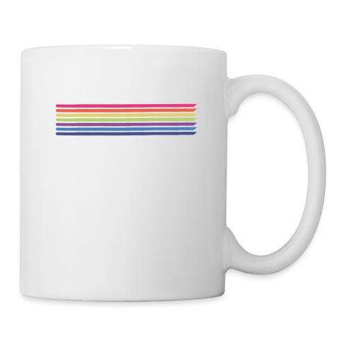 Farvede linjer - Kop/krus