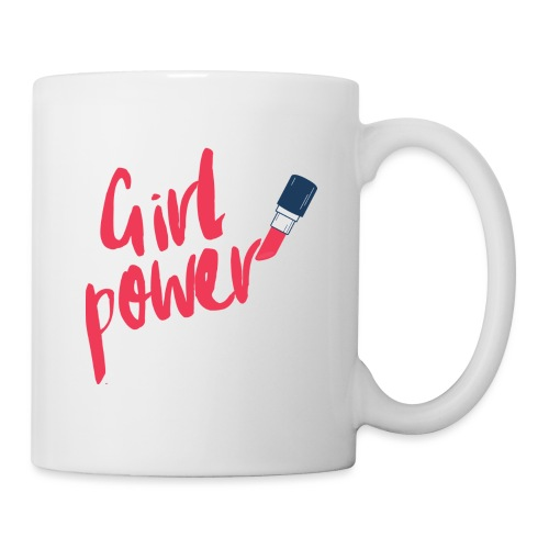girl power - Mug blanc