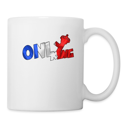Logo ONLY KING edition francaise - Mug blanc