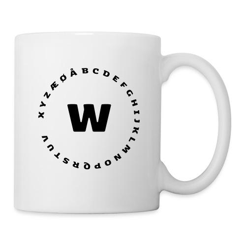 W - Kop/krus
