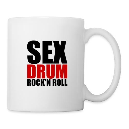 Sex, Drum, Rock'n Roll - Mug blanc