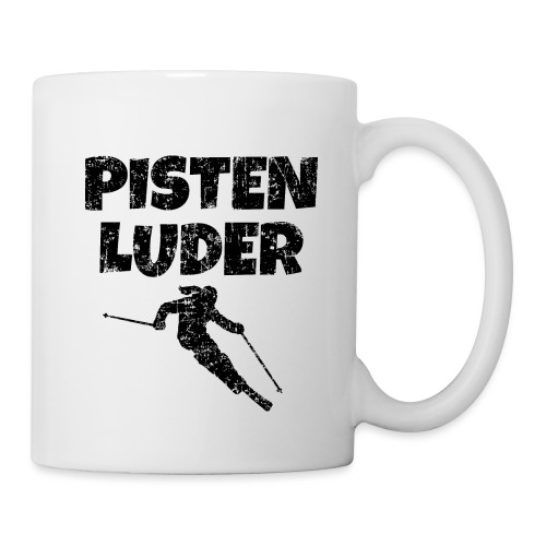 Pistenluder (Vintage/Schwarz) Apres-Ski - Tasse