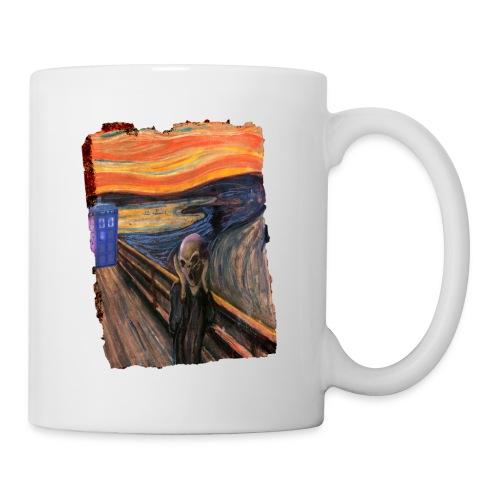 Screaming Tardis - Mug