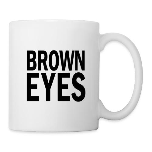 Brown Eyes png - Mug