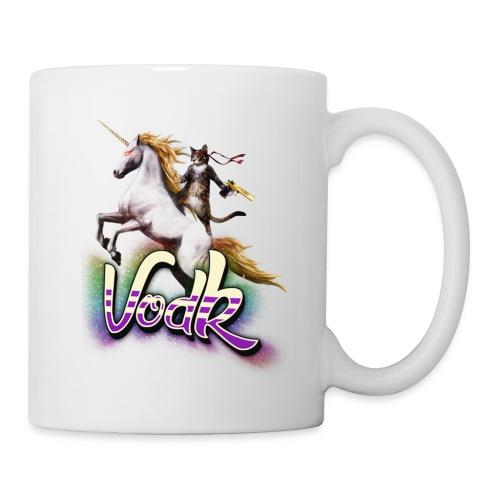 VodK licorne png - Mug blanc