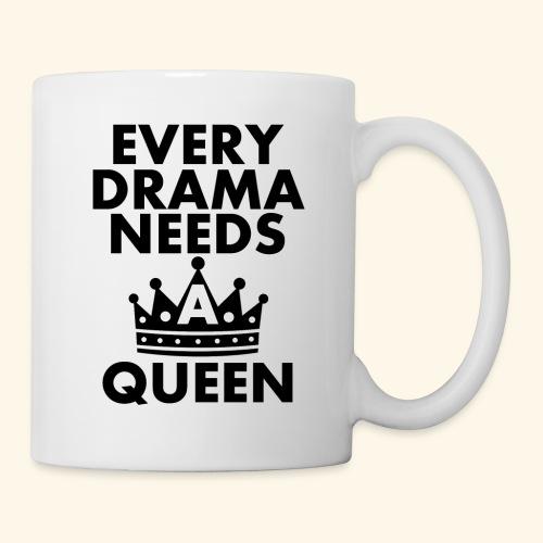 EVERY DRAMA black png - Mug