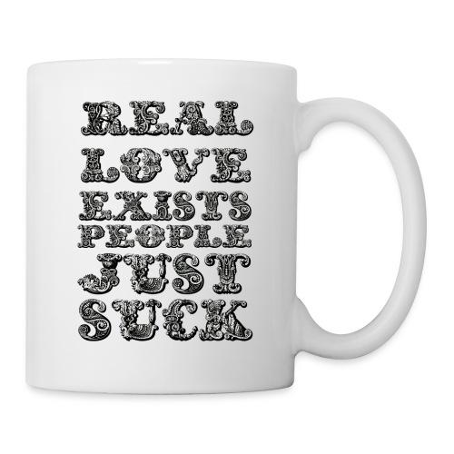 Real Love Exists REBEL INC. - Kubek