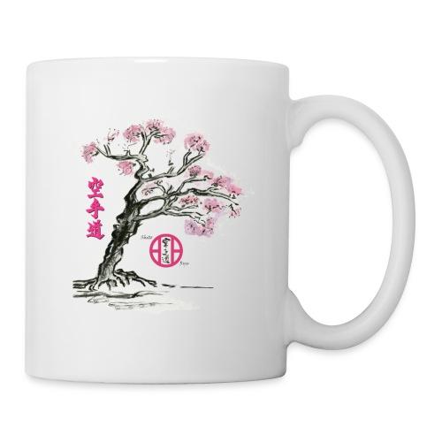 cerisier japonais2 gif - Mug blanc