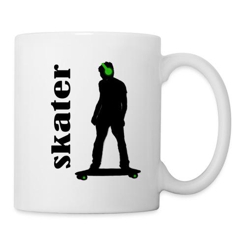 skater green copia - Taza