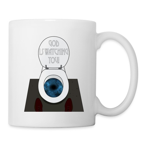 God is watching you! - Tazza