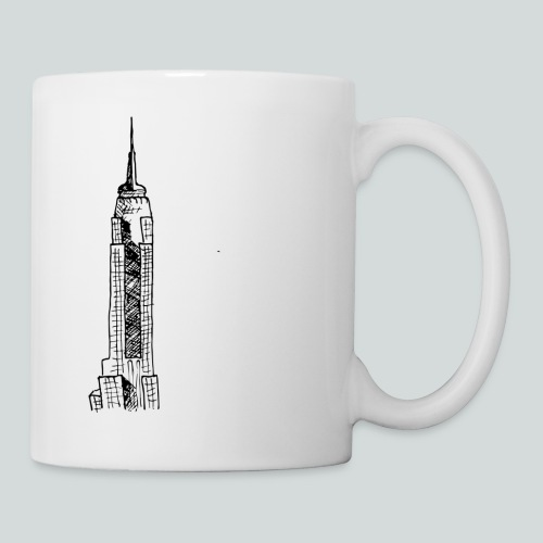 Empire State Building - Mug blanc