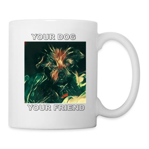 Si amas tu perro seguro amaras Esta Linea - Mug