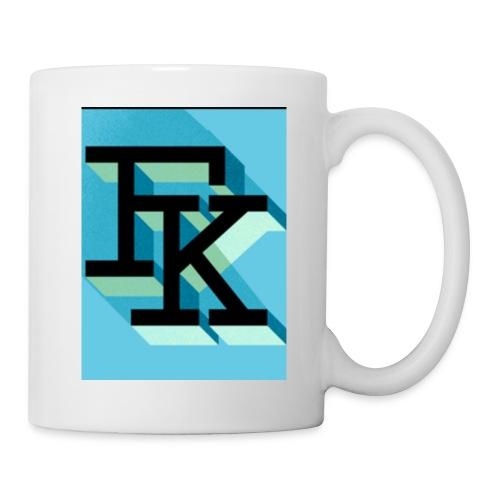FK - Mug blanc