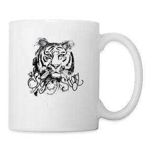David Pucher Art Tiger - Tasse