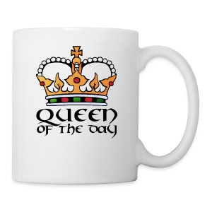 Queen of the day - Tasse