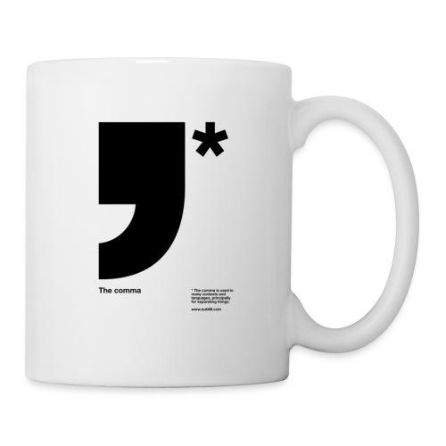 comma b - Mug