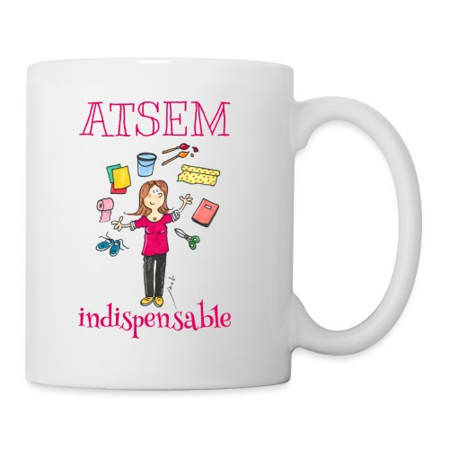003 ATSEM indispensable - Mug blanc
