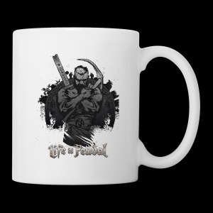 Life is Feudal Steam Badge 1 - Mug blanc