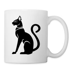 Bastet - Katzengöttin im alten Ägypten - Tasse